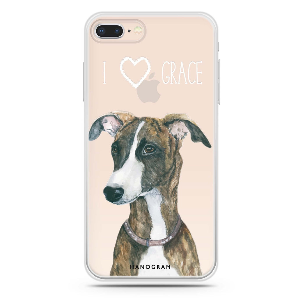 Whippet iPhone 7 Plus Soft Clear Case