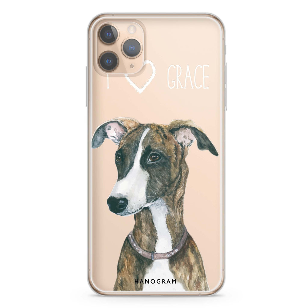 Whippet iPhone 11 Pro Max Soft Clear Case