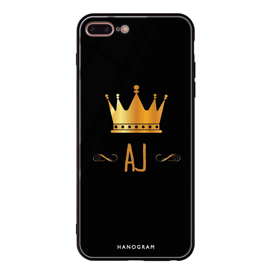 King's crown iPhone 8 Plus Glass Case