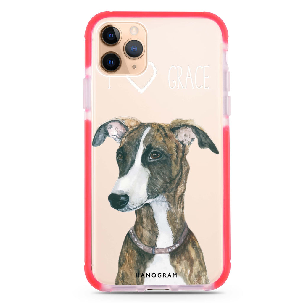 Whippet iPhone 11 Pro Max Shockproof Bumper Case