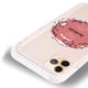Heart Crown Frosted Bumper Case