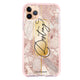 Golden Marble Frosted Bumper Case