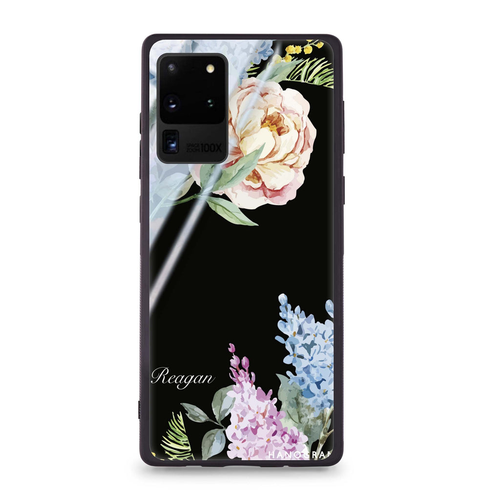 Tropical Floral Samsung Glass Case