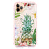 Pineapple & Floral iPhone 11 Pro Max Frosted Bumper Case
