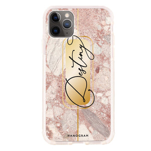 Golden Marble iPhone 11 Pro Max Shockproof Bumper Case