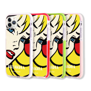 Pop Girl Frosted Bumper Case