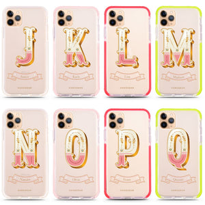 Circus monogram Shockproof Bumper Case