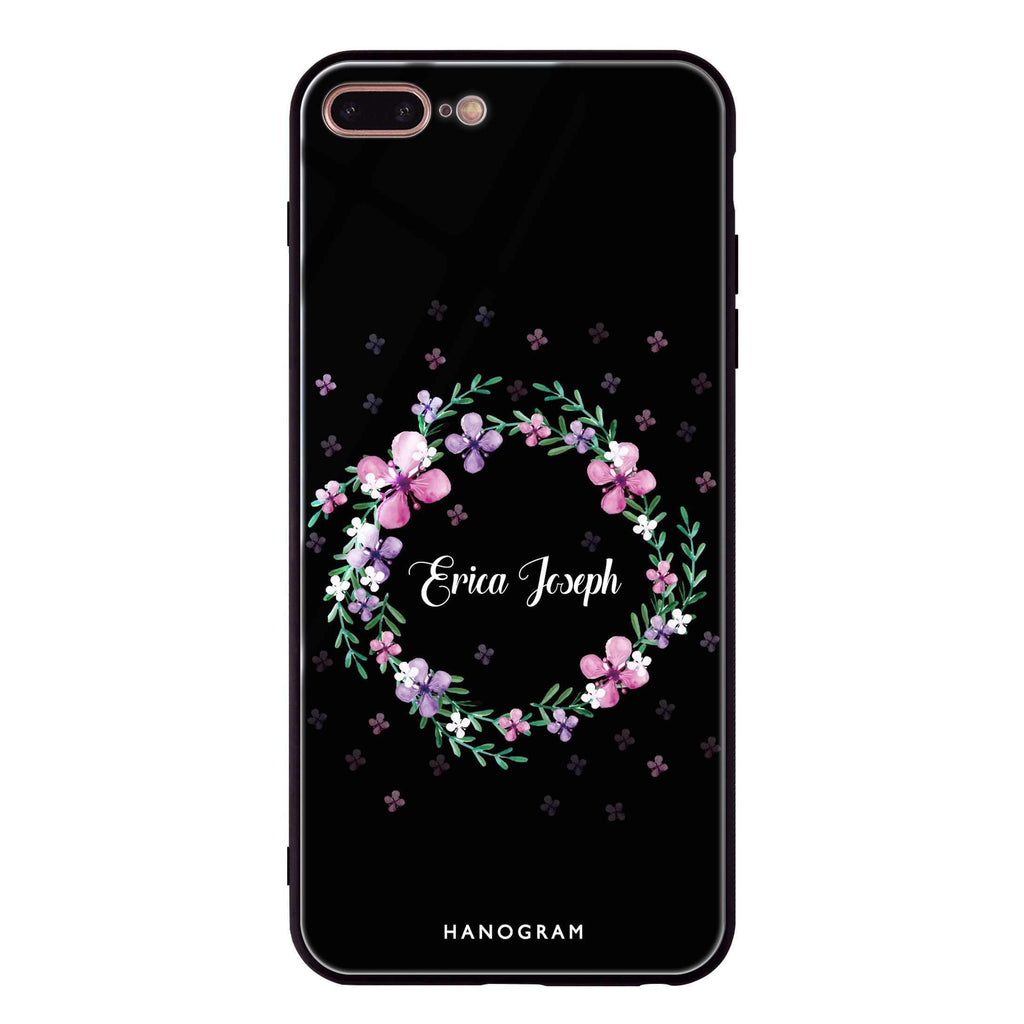 Floral Ring II iPhone 7 Plus Glass Case