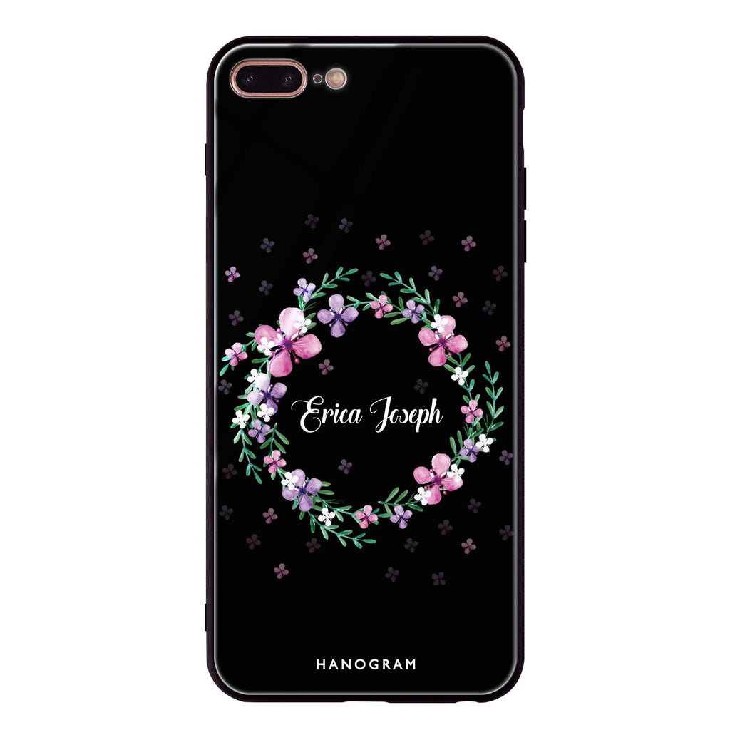 Floral Ring II iPhone 8 Plus Glass Case