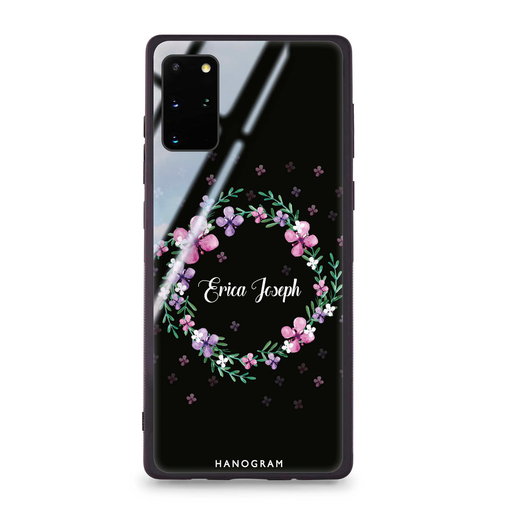 Floral Ring II Samsung S20 Plus Glass Case