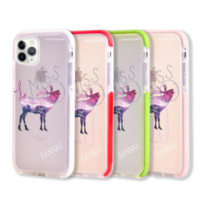 Galactic Love Shockproof Bumper Case