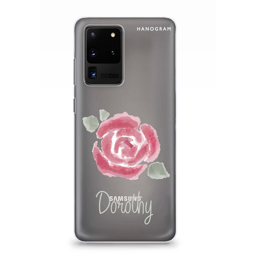 Kiss From A Rose Samsung S20 Ultra Soft Clear Case