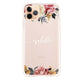 Art of Classic Floral iPhone 11 Pro Max Shockproof Bumper Case