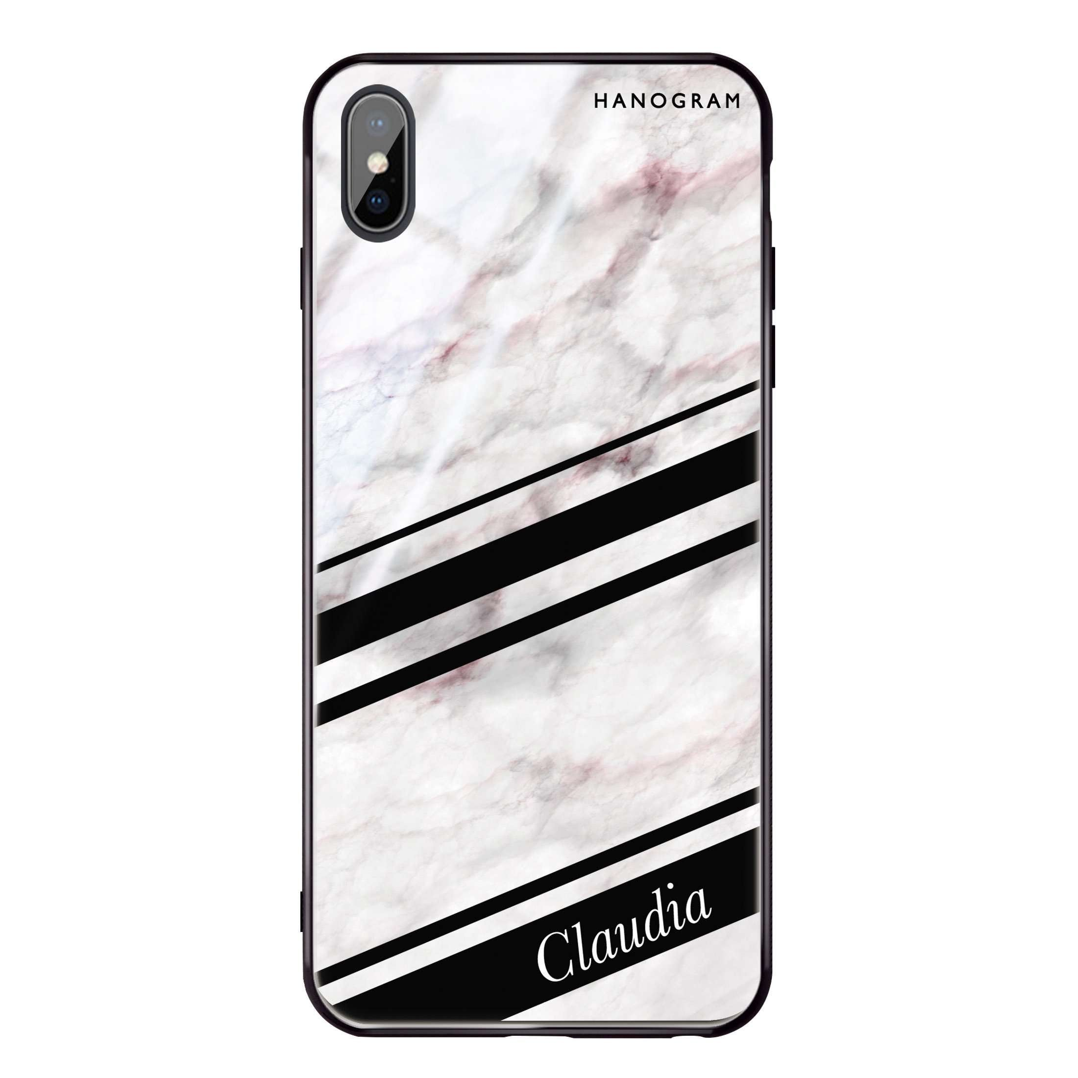 Marble Z iPhone X Glass Case