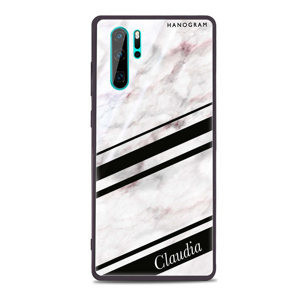 Marble Z Huawei Glass Case