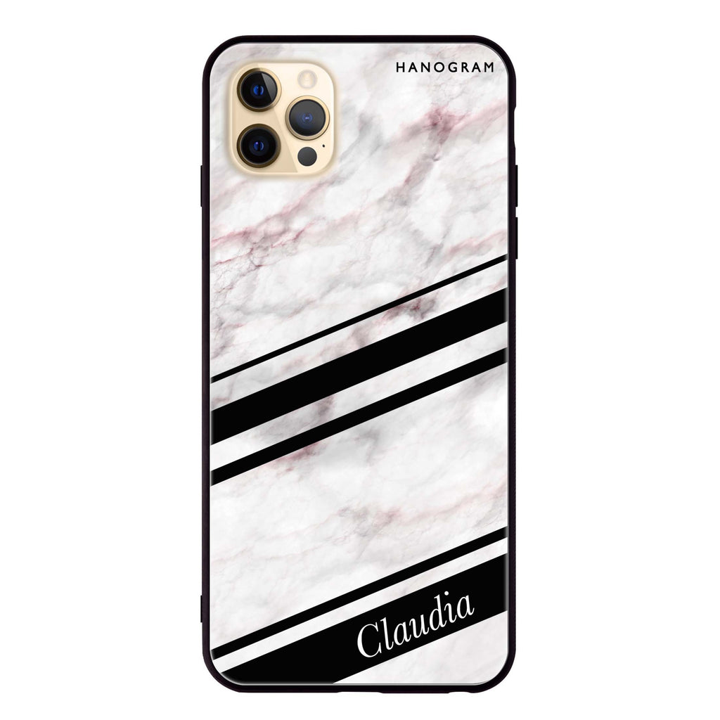 Marble Z Glass Case