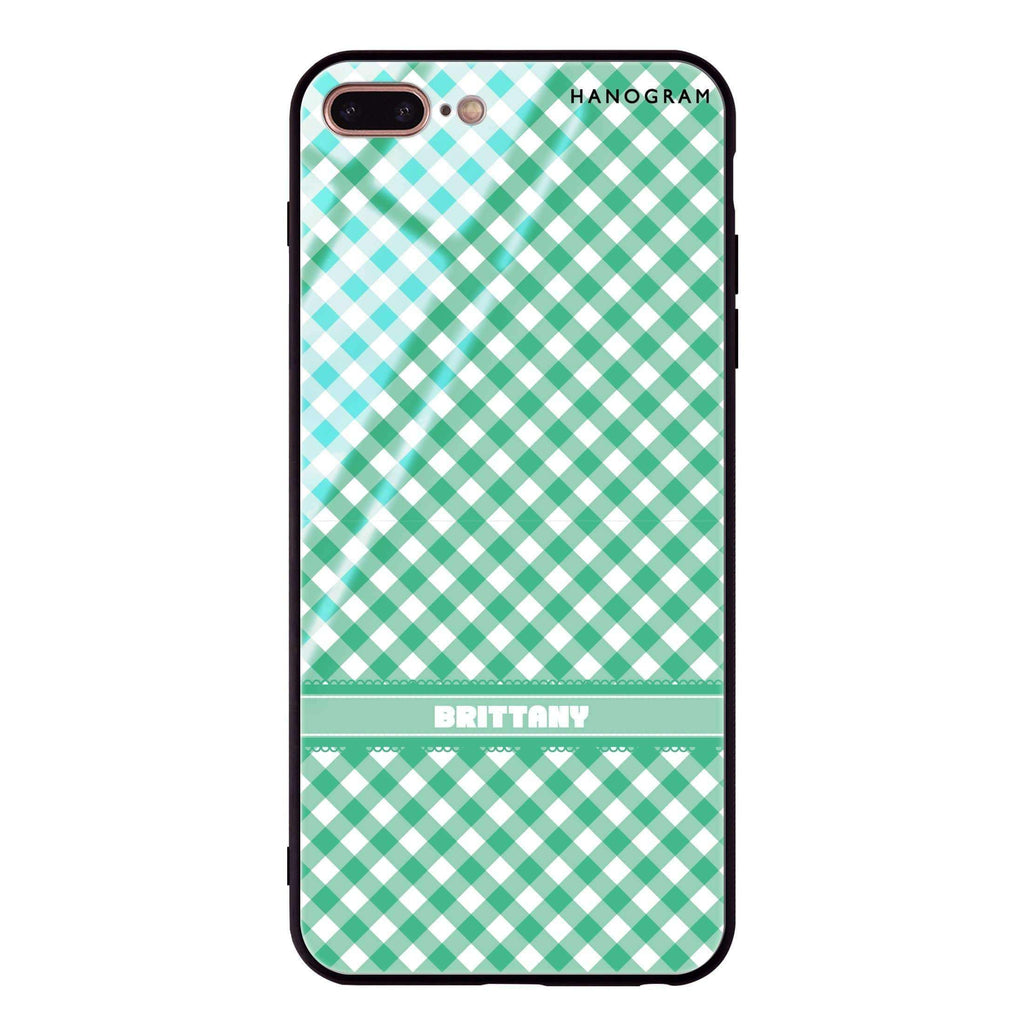 Lovely Green iPhone 8 Plus Glass Case