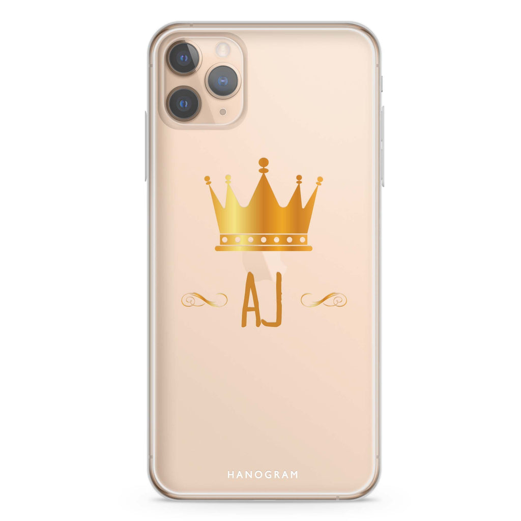 King's crown iPhone 11 Pro Max Soft Clear Case