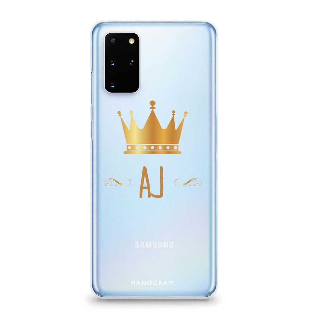 King's crown Samsung S20 Soft Clear Case