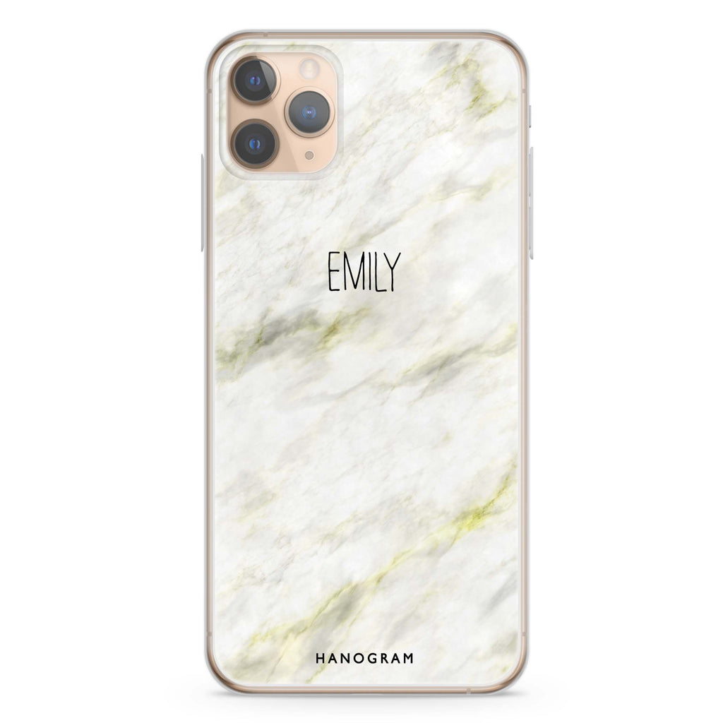 Grand Marble II iPhone 11 Pro Max Soft Clear Case