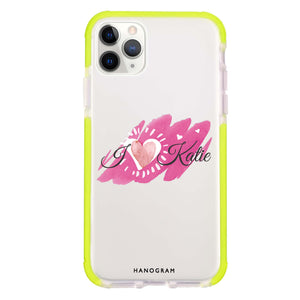Loves message Shockproof Bumper Case