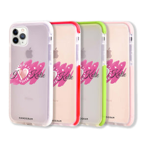 Loves message Frosted Bumper Case