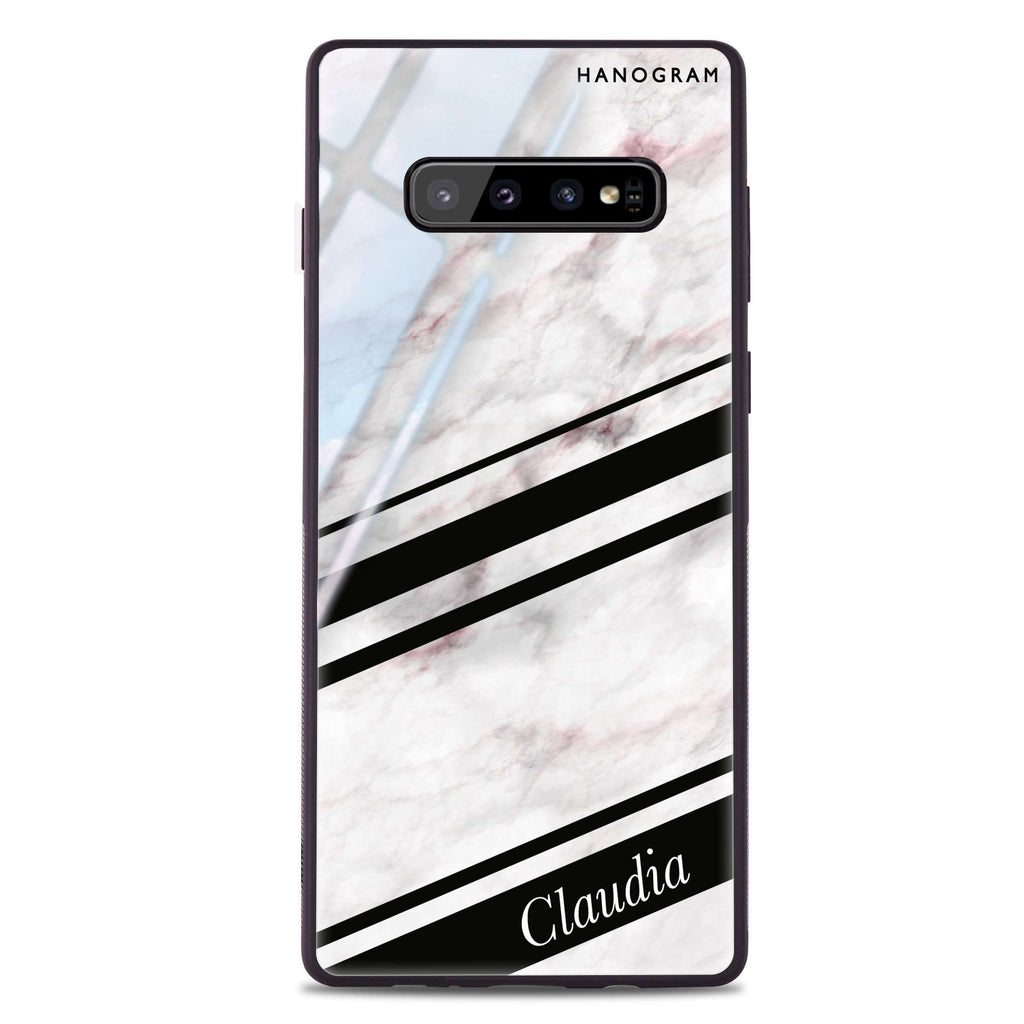 Marble Z Samsung S10 Plus Glass Case