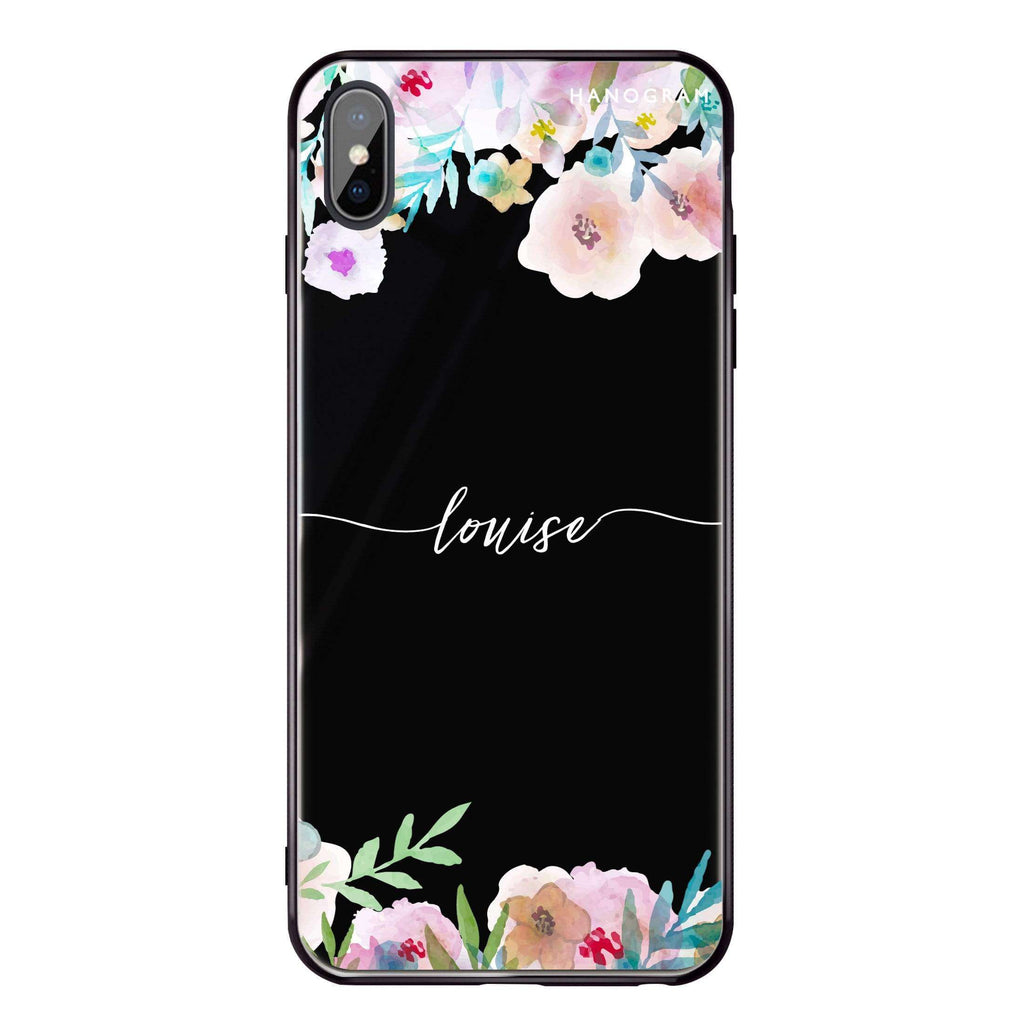 Art of Floral iPhone XS Max Glass Case