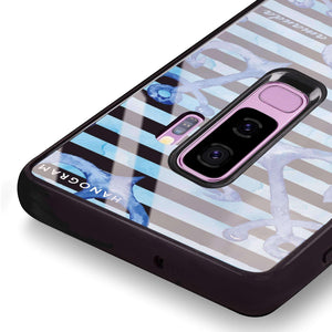 Blue Anchor Samsung S9 Plus Glass Case