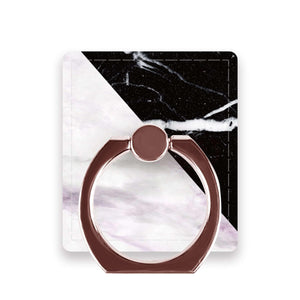 Black & White Marble - Ring Stent