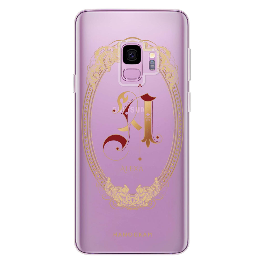 Gothic Ornamental Samsung S9 Soft Clear Case