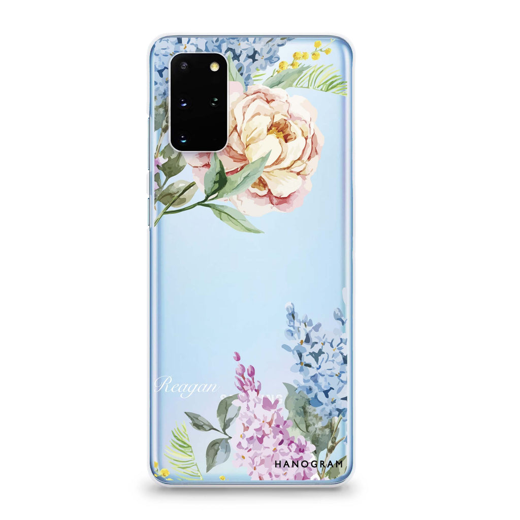 Tropical Floral Samsung S20 Soft Clear Case