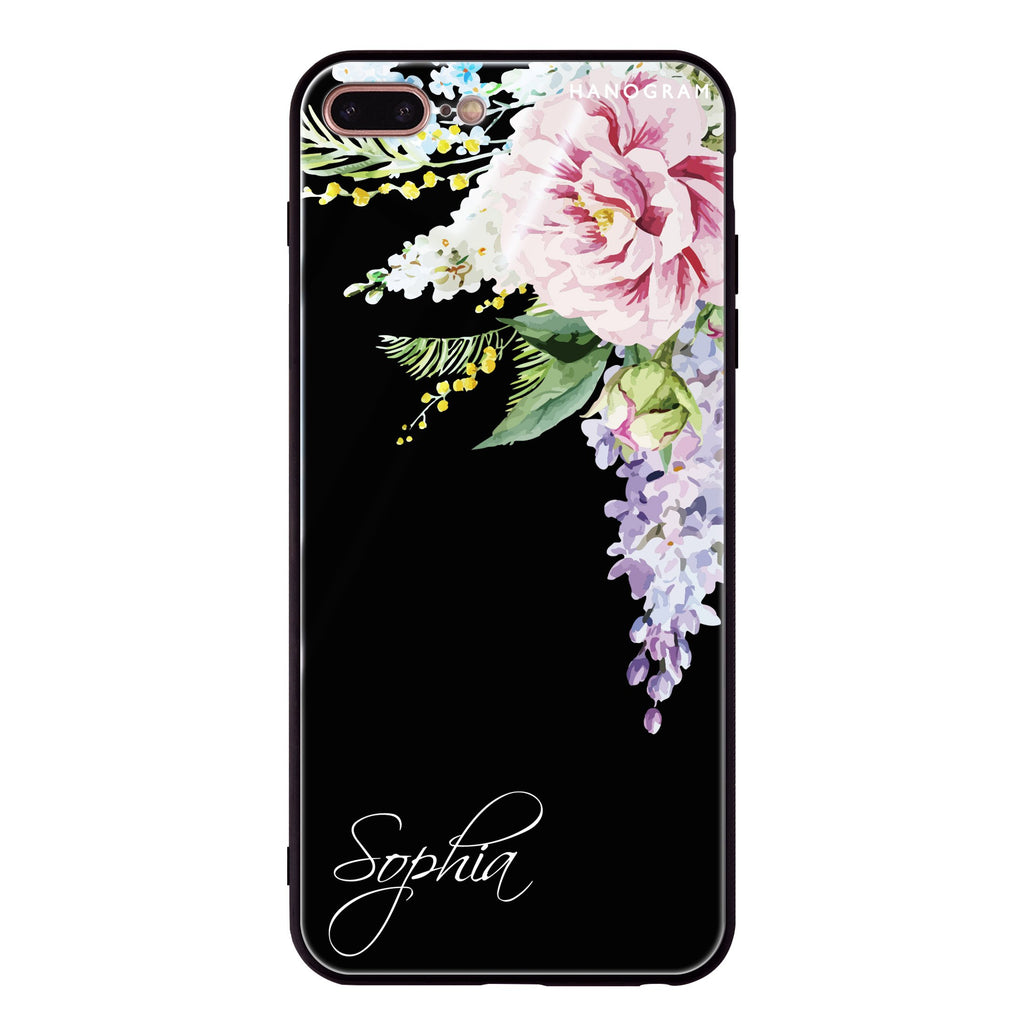 Tropical Floral II iPhone 8 Plus Glass Case