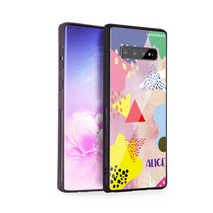 Trendy Abstract III Samsung S10 Plus Glass Case