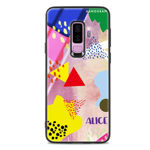 Trendy Abstract III Samsung S9 Plus Glass Case