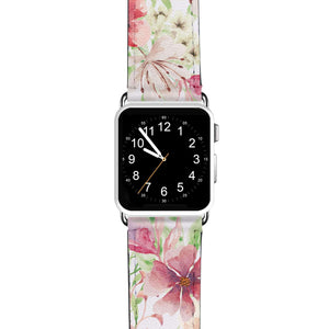 Monogram & Floral APPLE WATCH BANDS