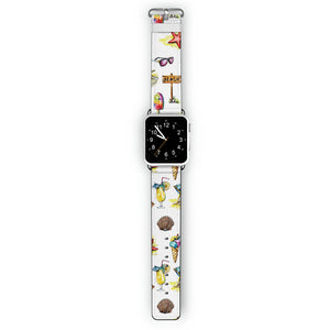 Beach me up - Frosted Bumper Case and Watch Band