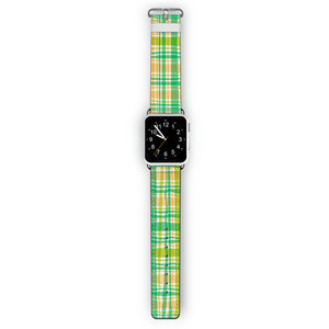 Plaid - Frosted Bumper Case and Watch Band