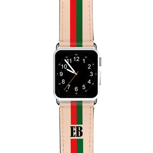 Matching Stripes APPLE WATCH BANDS