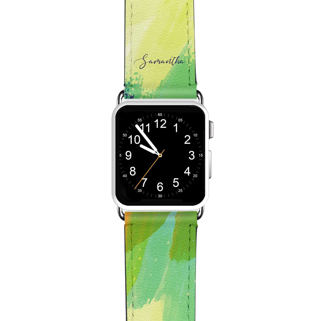 Watercolor Abstract APPLE WATCH BANDS
