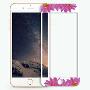 Flowers Artistic Skin Screen Protector For iPhone