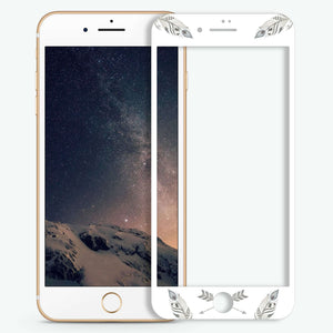 Feather Seamless Artistic Skin Screen Protector For iPhone