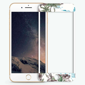 Coconut trees Artistic Skin Screen Protector For iPhone