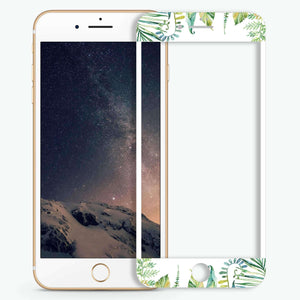 Garden Artistic Skin Screen Protector For iPhone