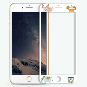 Cute Animals Artistic Skin Screen Protector For iPhone
