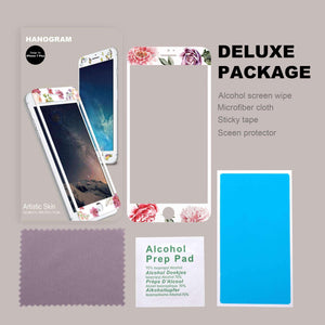 Floral Artistic Skin Screen Protector For iPhone