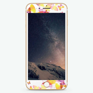Watercolor Artistic Skin Screen Protector For iPhone