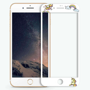 Rainbow Unicorn Artistic Skin Screen Protector For iPhone