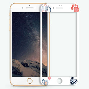 Meow Artistic Skin Screen Protector For iPhone