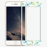 Waving Leaf Artistic Skin Screen Protector For iPhone